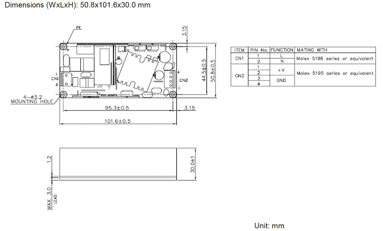 Mds 065aps12 Ba Delta Electronics Power Supplies External Rack Wiring Diagram Aps 065aps Drawing